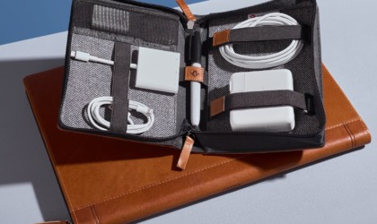 Twelve South Journal CaddySack Luxury Leather Travel Tote