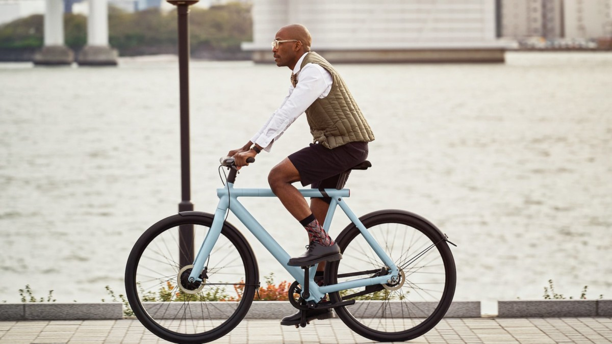 VanMoof S3 Automatic Electronic Bicycle has built-in anti-theft technology