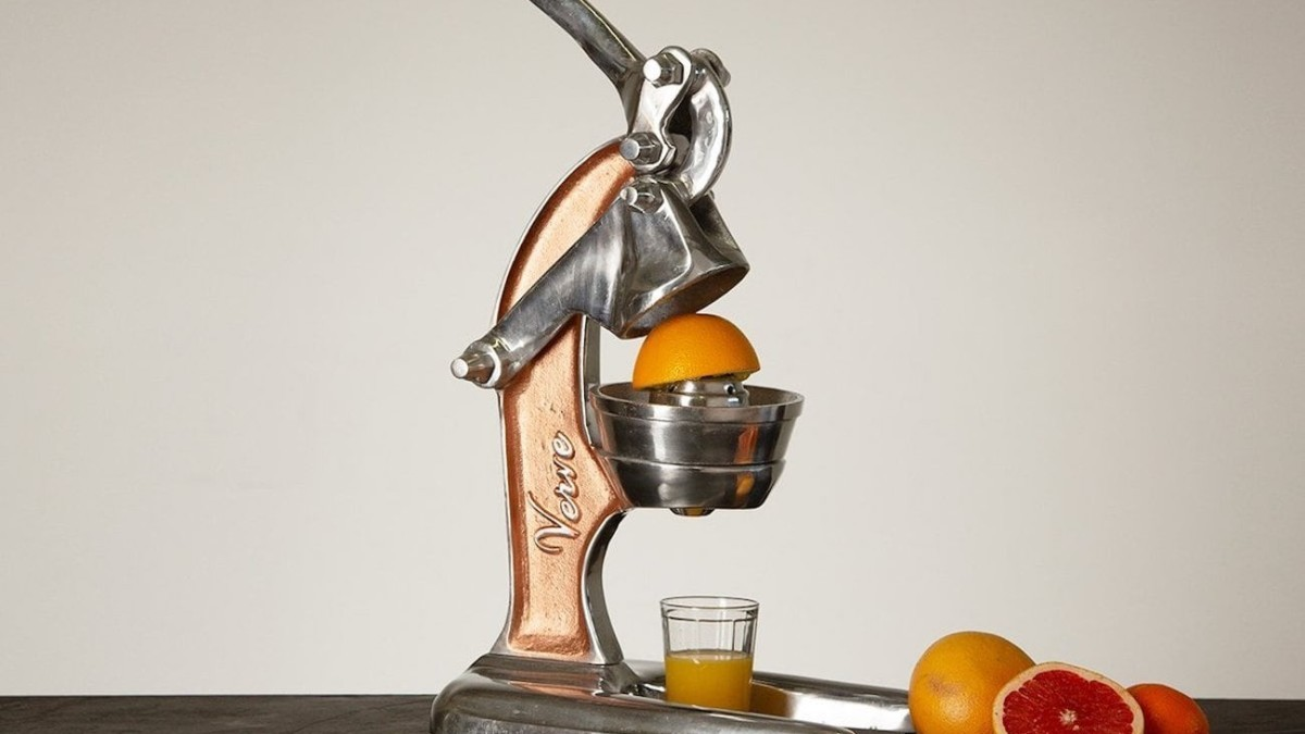Verve Culture Artisan Manual Citrus Juicer