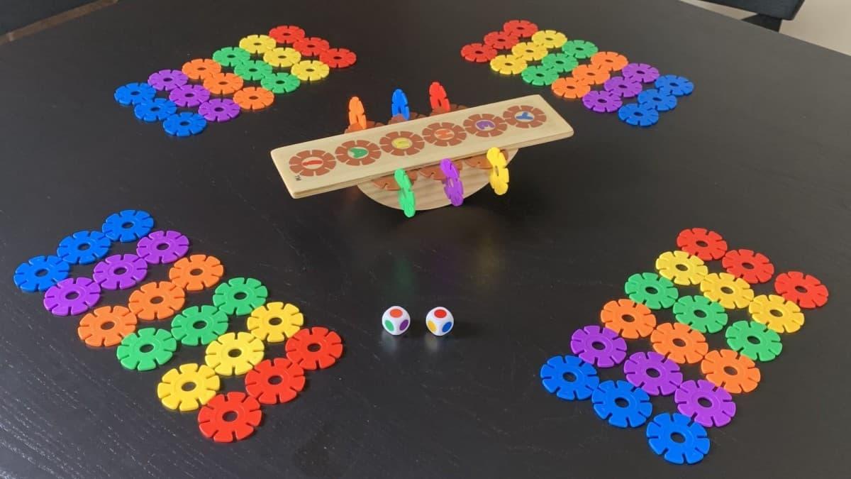 YEHUA Wildflower Balancing Game