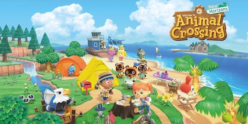 Top video games Animal Crossings: New Horizons