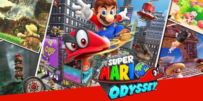 Top video games Super Mario Odyssey