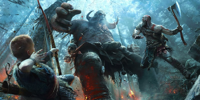 Top video games God of War