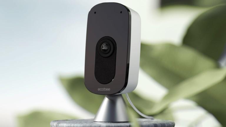 ecobee SmartCamera Indoor Security Camera works with Amazon Alexa and Apple HomeKit