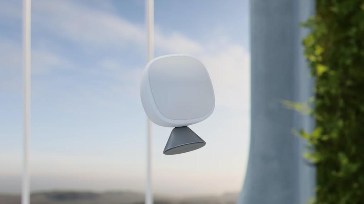 ecobee SmartSensor Motion Detector can measure the temperature in individual rooms