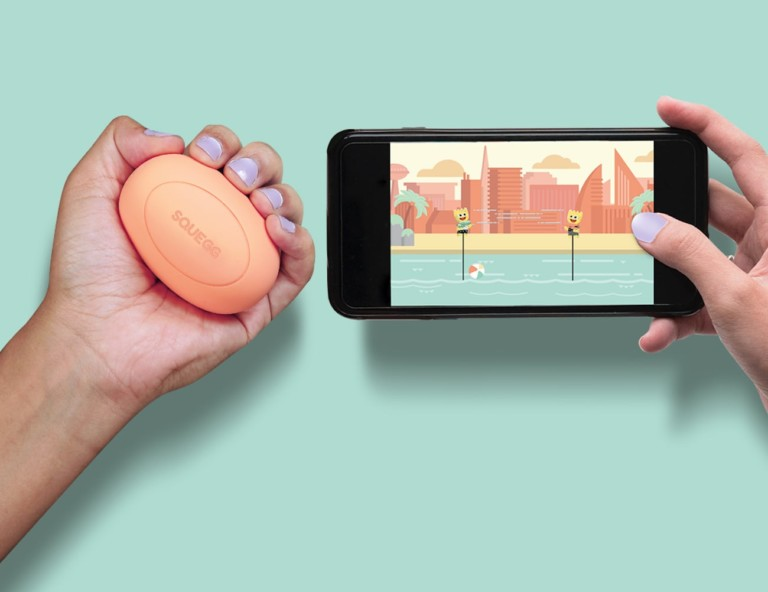 SQUEGG Smart Squeeze Ball