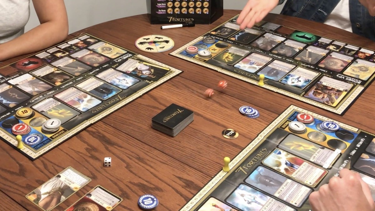 7 Fortunes Battle Arena Board Game is based upon stories from Greek Mythology