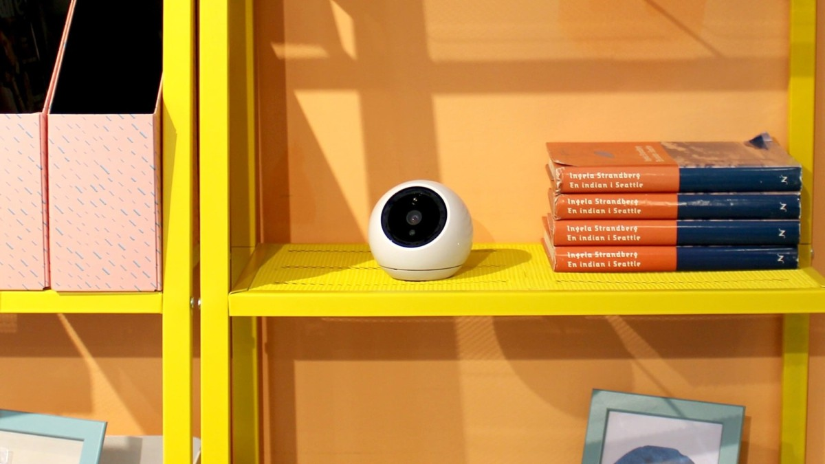 Amaryllo Apollo Biometric Tracking Security Camera can detect faces and intruders