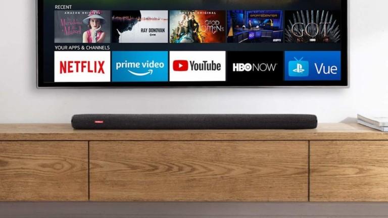 Anker Nebula Soundbar Fire TV Edition 4K HDR Speaker