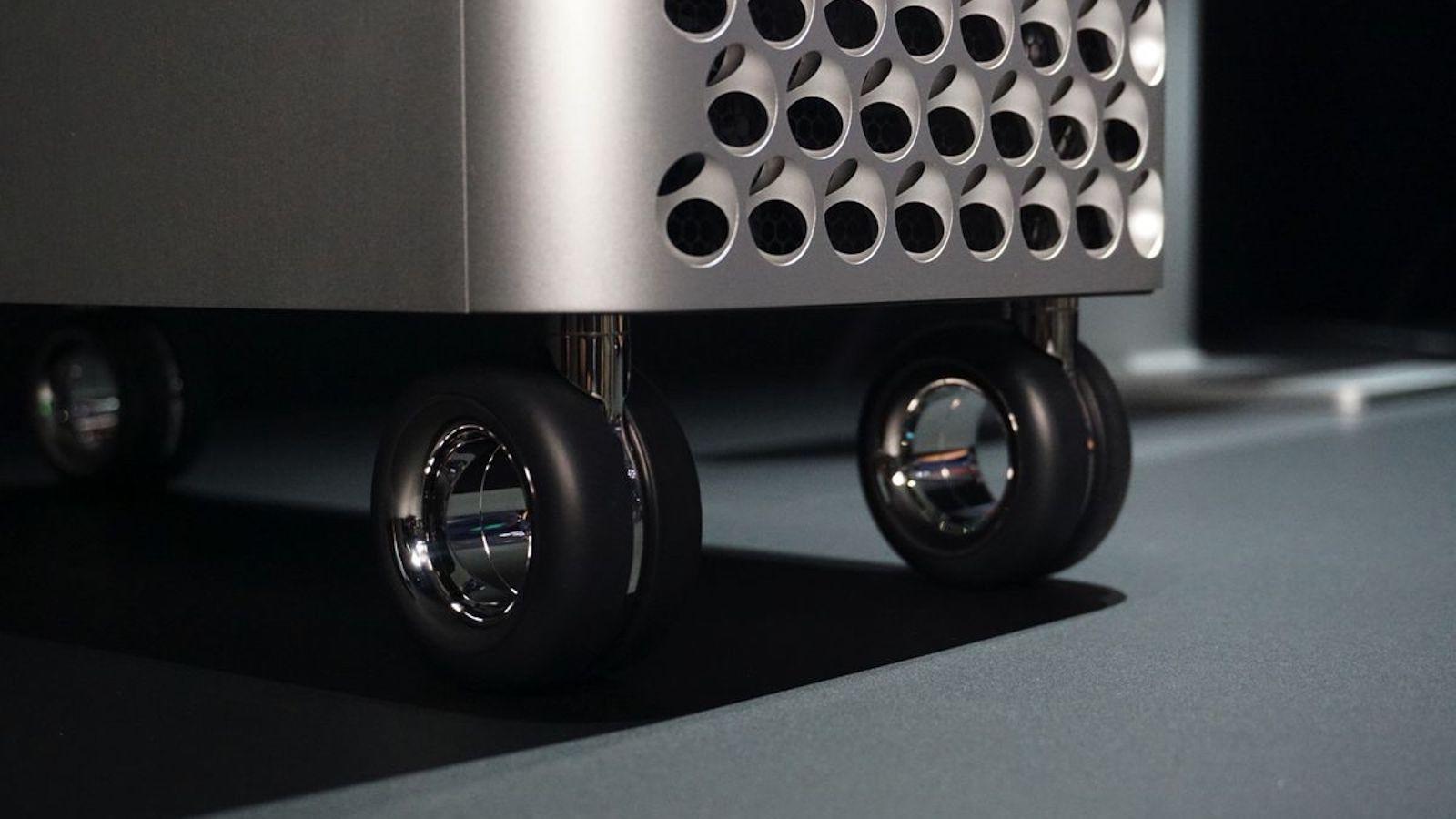 Apple Mac Pro Wheels Kit Computer Rollers