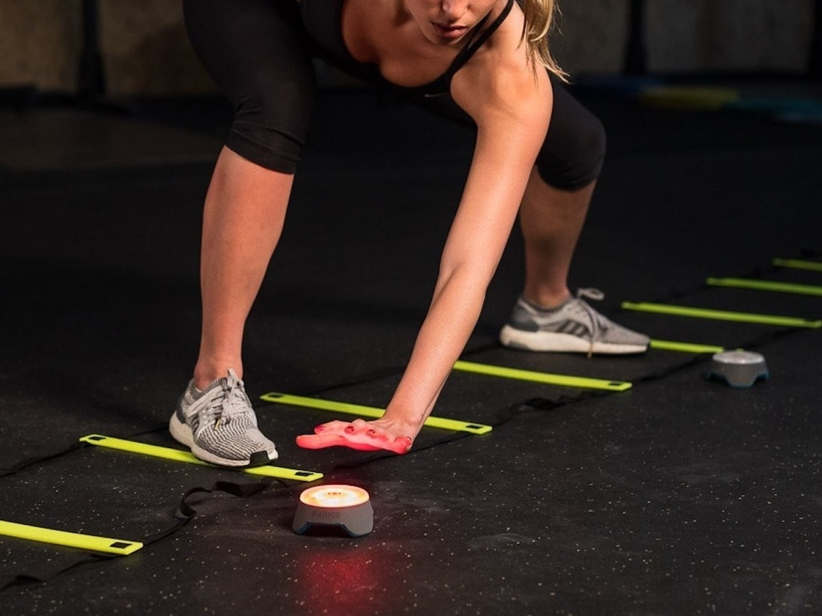 BlazePod Workout Trainer offers reflex training at a professional level