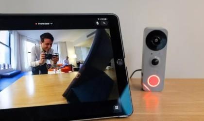 Blue Doorbell Camera HD Cam