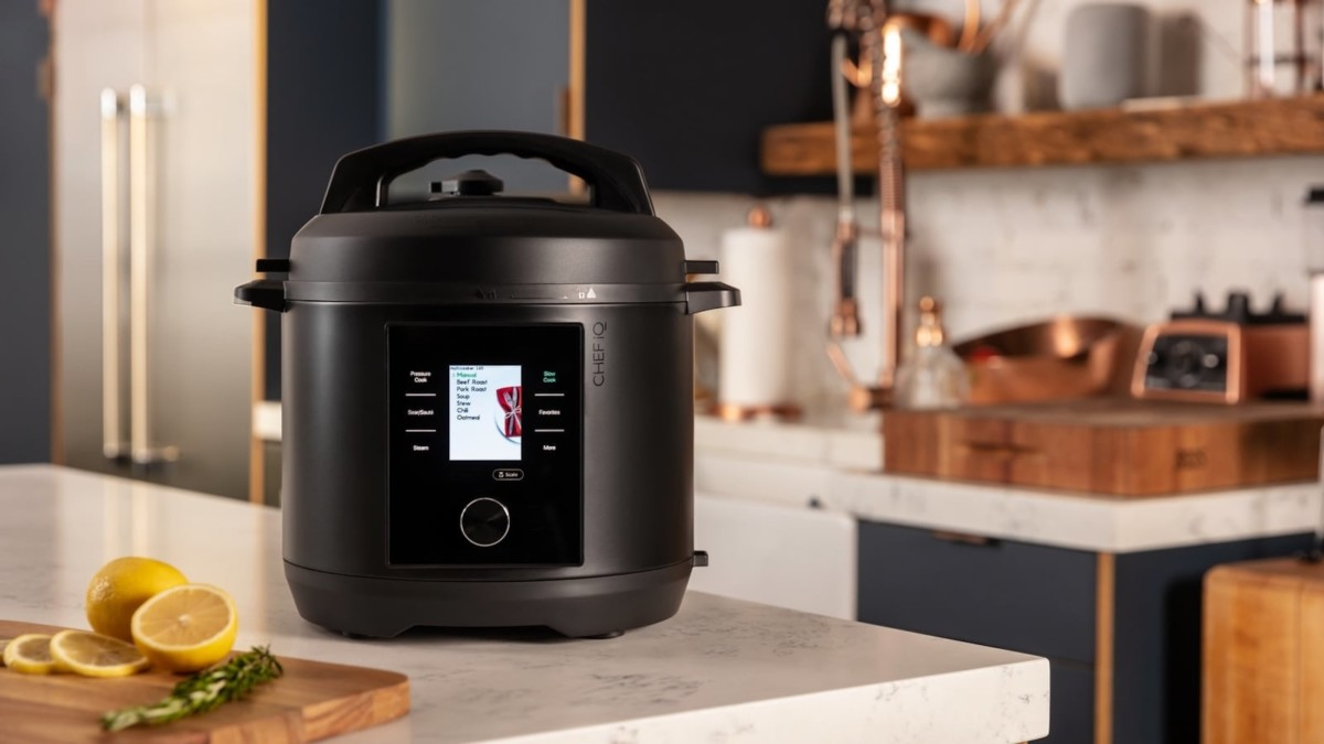 CHEF iQ Smart Cooker Multifunctional Cooking Device has all the built-in tools you need