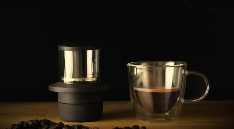 COFFEEJACK Pocket Espresso Maker lets you brew café-quality drinks at home