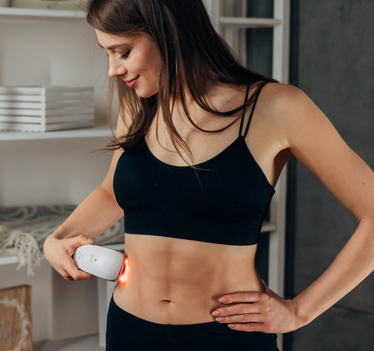 Fat Iron Body Toner is FDA cleared and clinically tested for home use to iron off fat