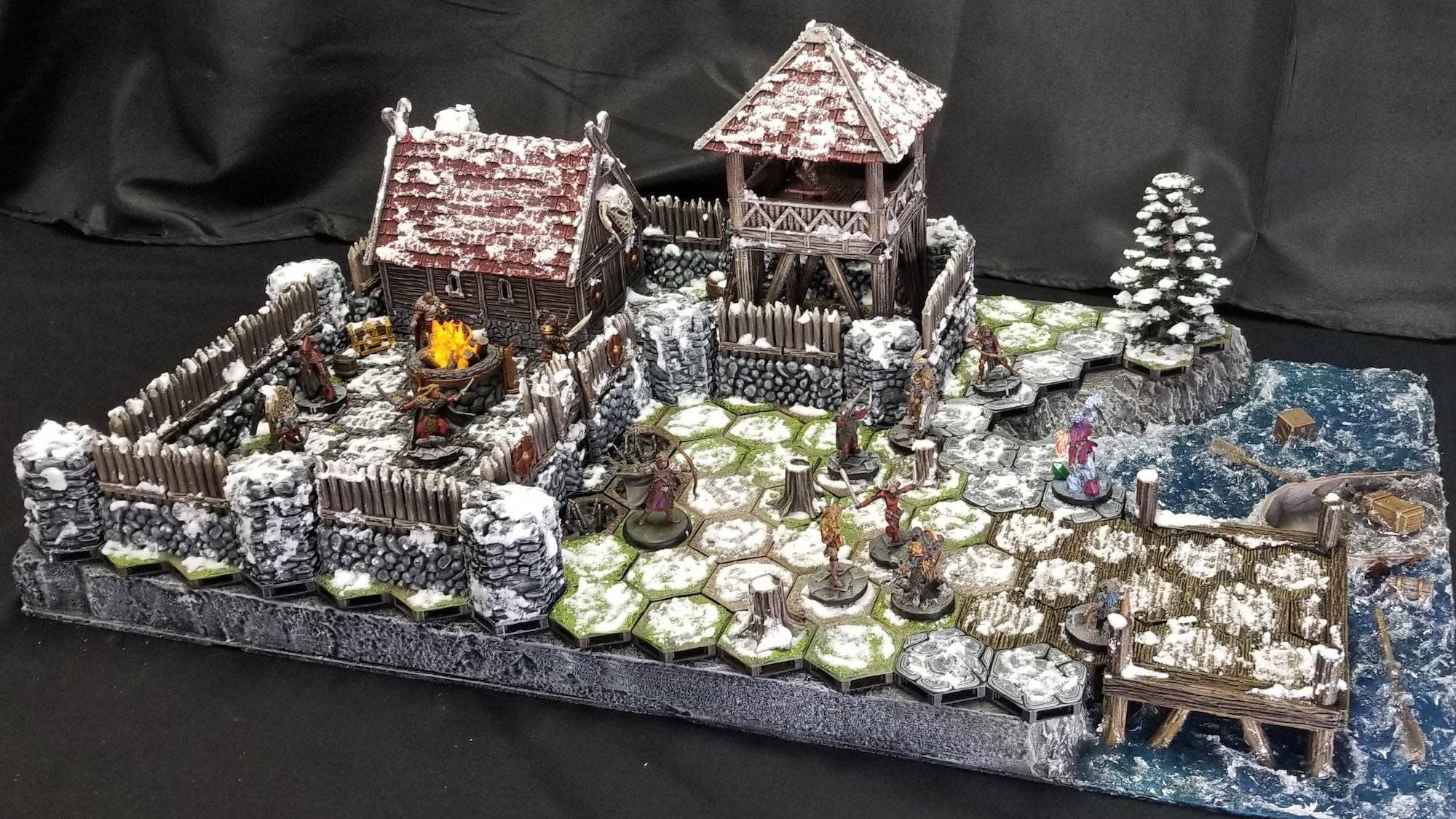 Frosthaven Dungeon Board Game