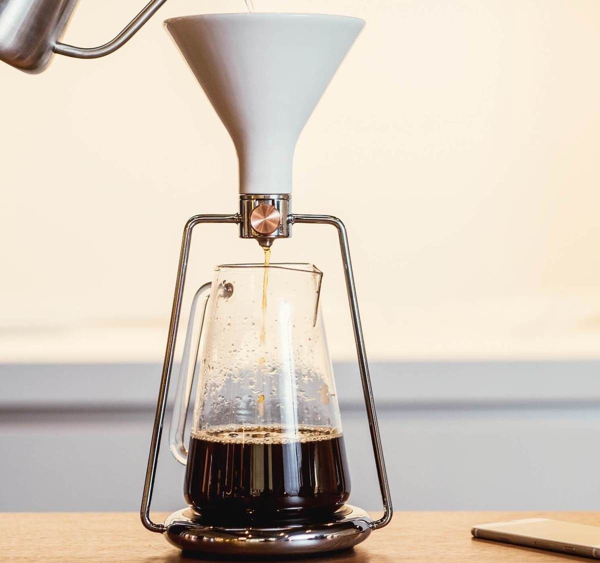 GOAT STORY GINA smart coffee instrument lets you brew in three deliciously different ways