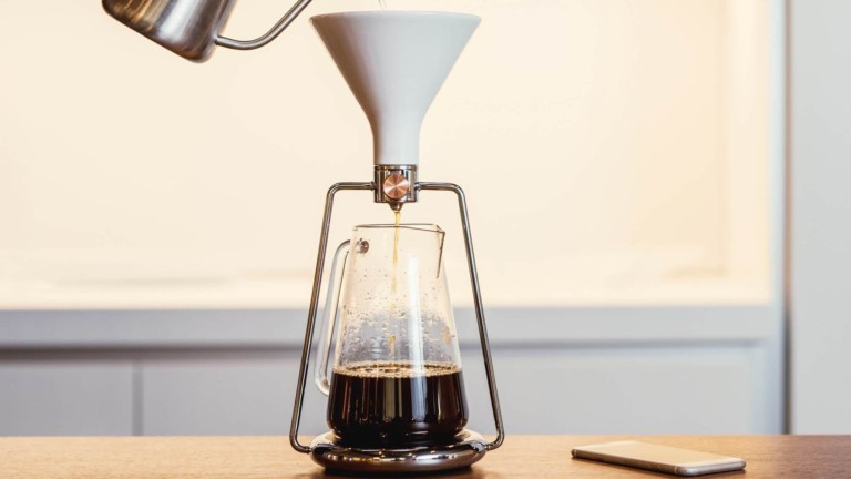 """GOAT STORY GINA smart <em class=""""algolia-search-highlight"""">coffee</em> instrument lets you brew in three different ways"""