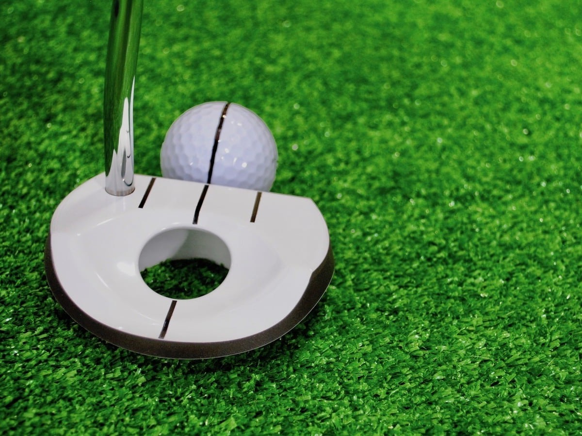 Gaim Golf A-365 Putter addresses both directional and distance control