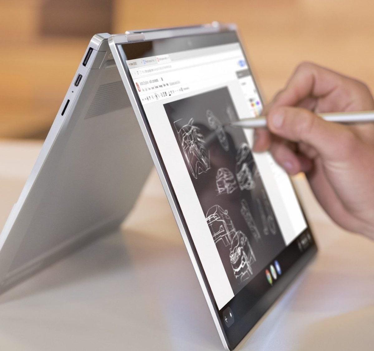 HP Elite c1030 Chromebook Enterprise Ultrathin Laptop offers a 13.5″ micro-edge display