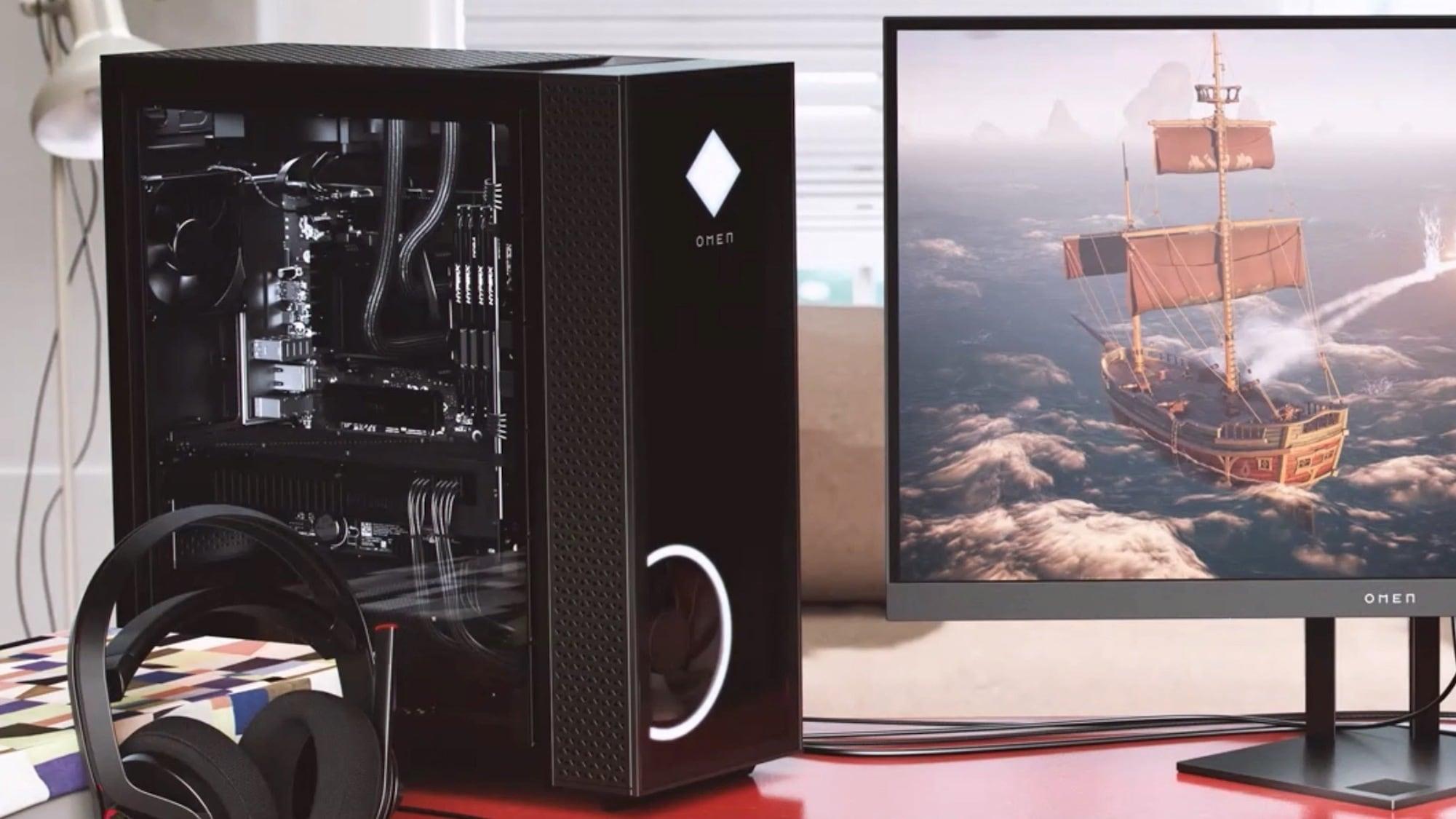 HP Omen 25L & 30L Gaming Desktops