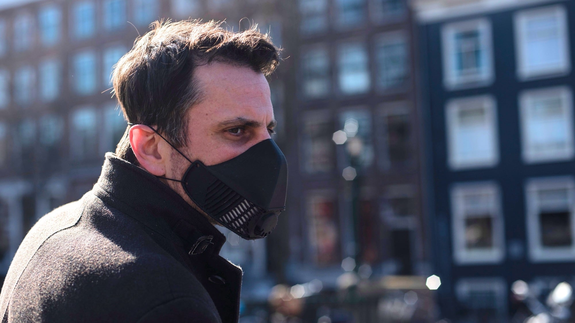 LMP S2 Reusable Protective Face Mask uses carbon filters for an N99 rating