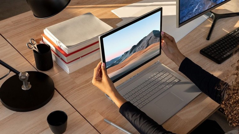 Microsoft Surface Book 3 Convertible Laptop makes working from anywhere a breeze