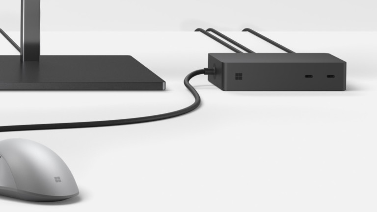 Microsoft Surface Dock 2 Desktop Connector transforms your Surface into a PC