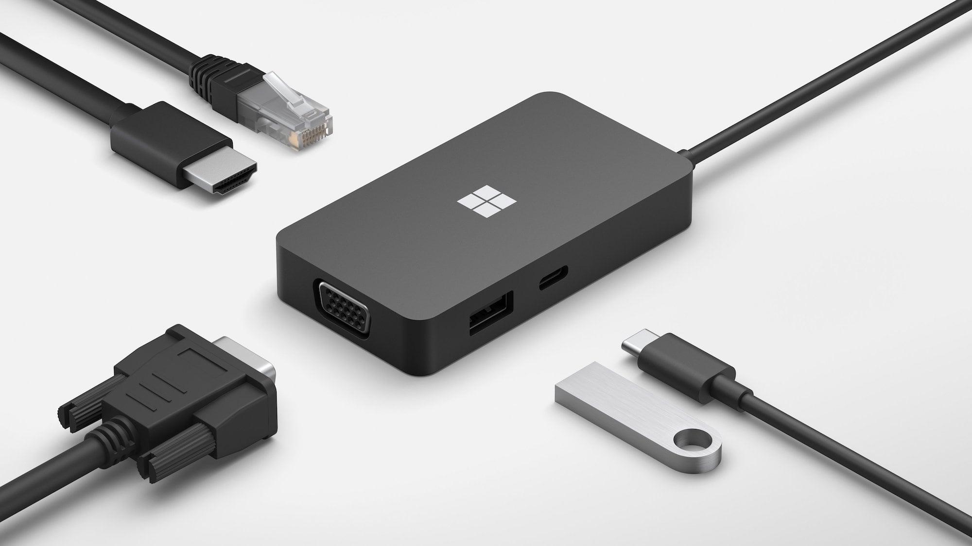 Microsoft USB-C Travel Hub Multiport Device