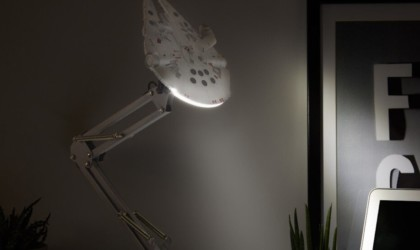 Millennium Falcon Star Wars Desk Lamp