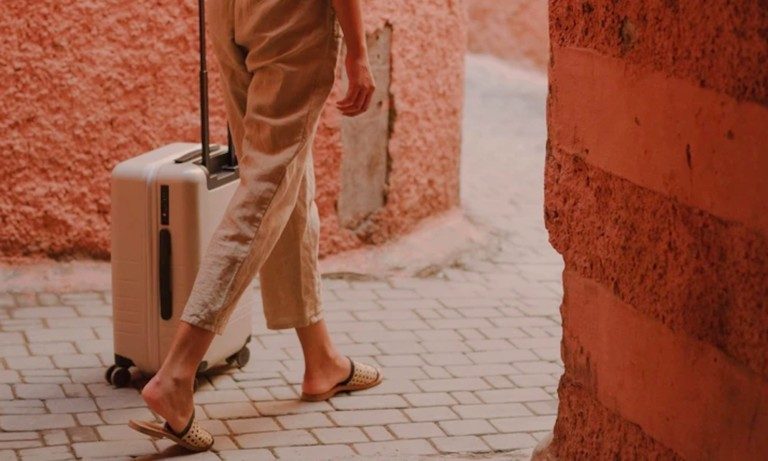 This premium suitcase makes luxury travel gear affordable