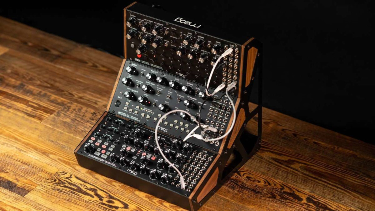Moog Subharmonicon Analog Synthesizer uses a 6-tone sound engine