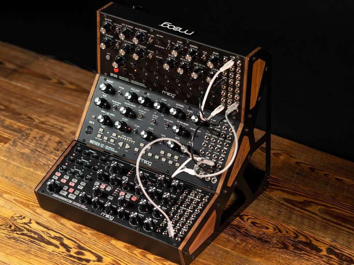 Moog Subharmonicon Analog Synthesizer uses a 6-tone sound engine