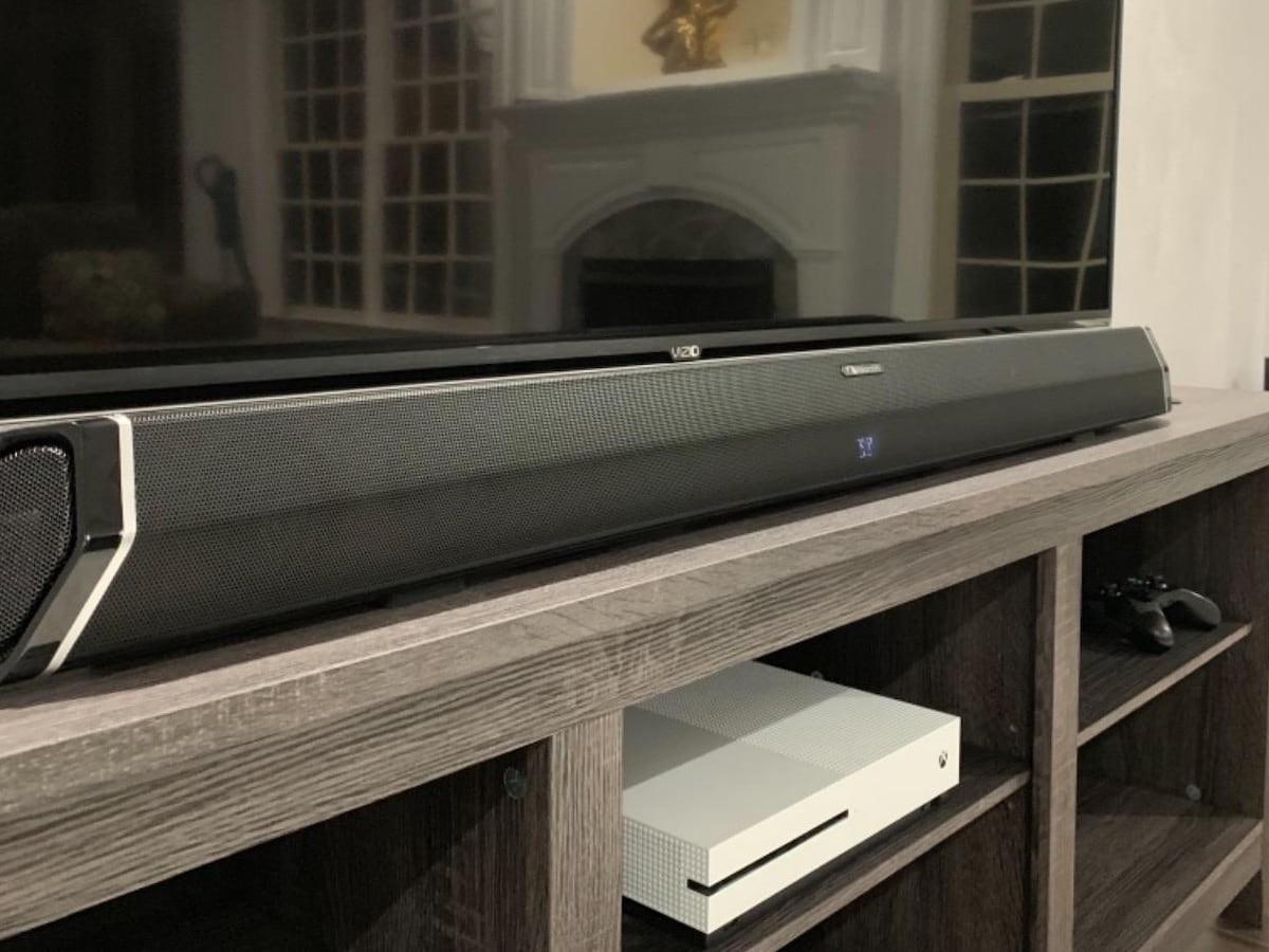 Nakamichi Shockwafe Ultra 9.2 SSE DTS:X & Dolby Atmos Soundbar produces 360º audio