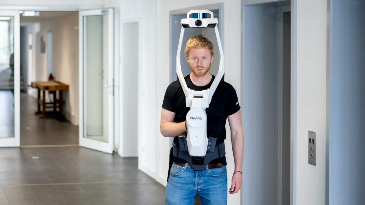 NavVis VLX Wearable Reality Capture Device lets you quickly scan built environments