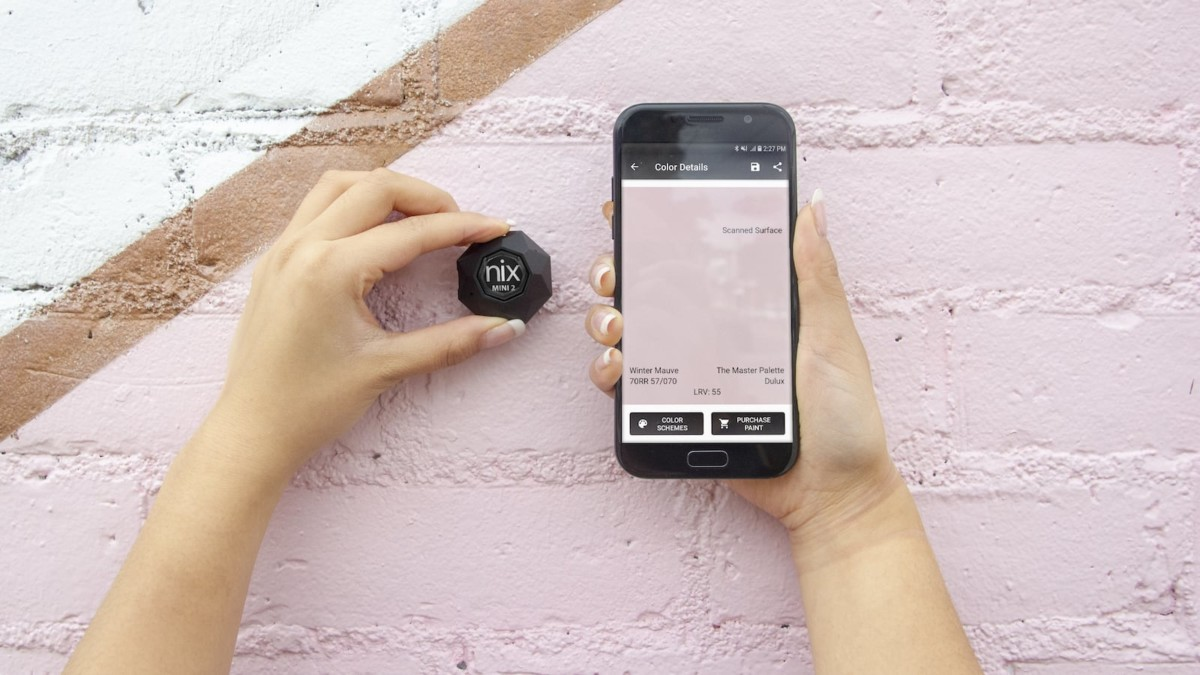 Nix Mini Color Sensor lets you find any color you see