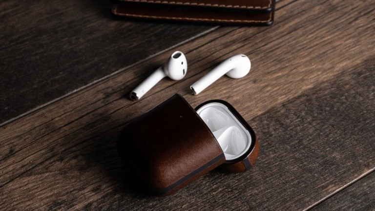 Nomad Rugged Case AirPods wireless charging cover has a light pipe for the LED indicator