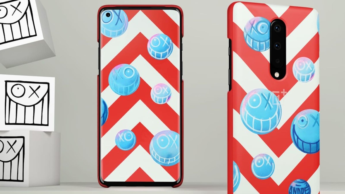OnePlus x André Limited Edition OnePlus 8 Case covers your phone in street art design