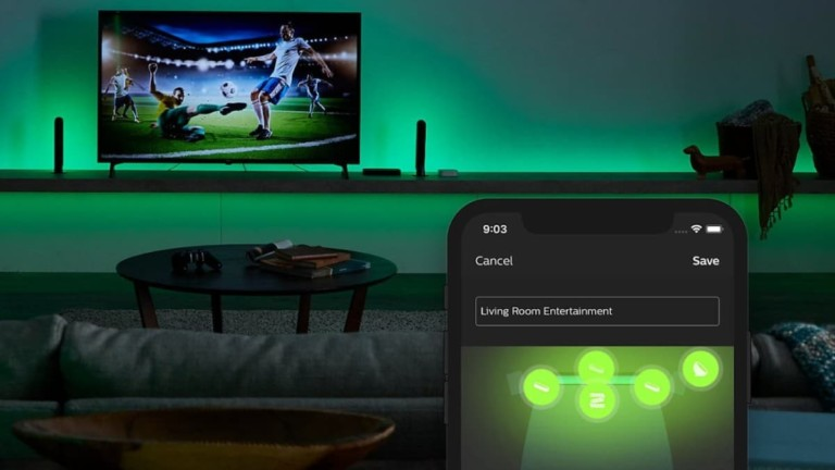 Philips Hue Play HDMI Sync Box Home Theater Device