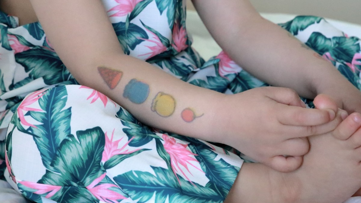 Prinker Consumable Set Color Temporary Tattoo Ink makes your body art look incredibly real