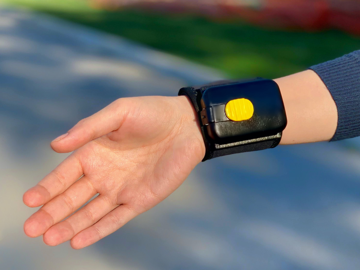 PumPiX Wearable Sanitizing Dispenser is illness prevention you can take everywhere