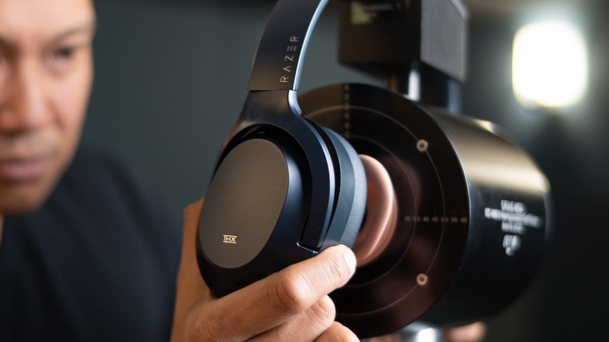 Razer Opus Wireless THX-Certified Headphones offer advanced active noise cancellation