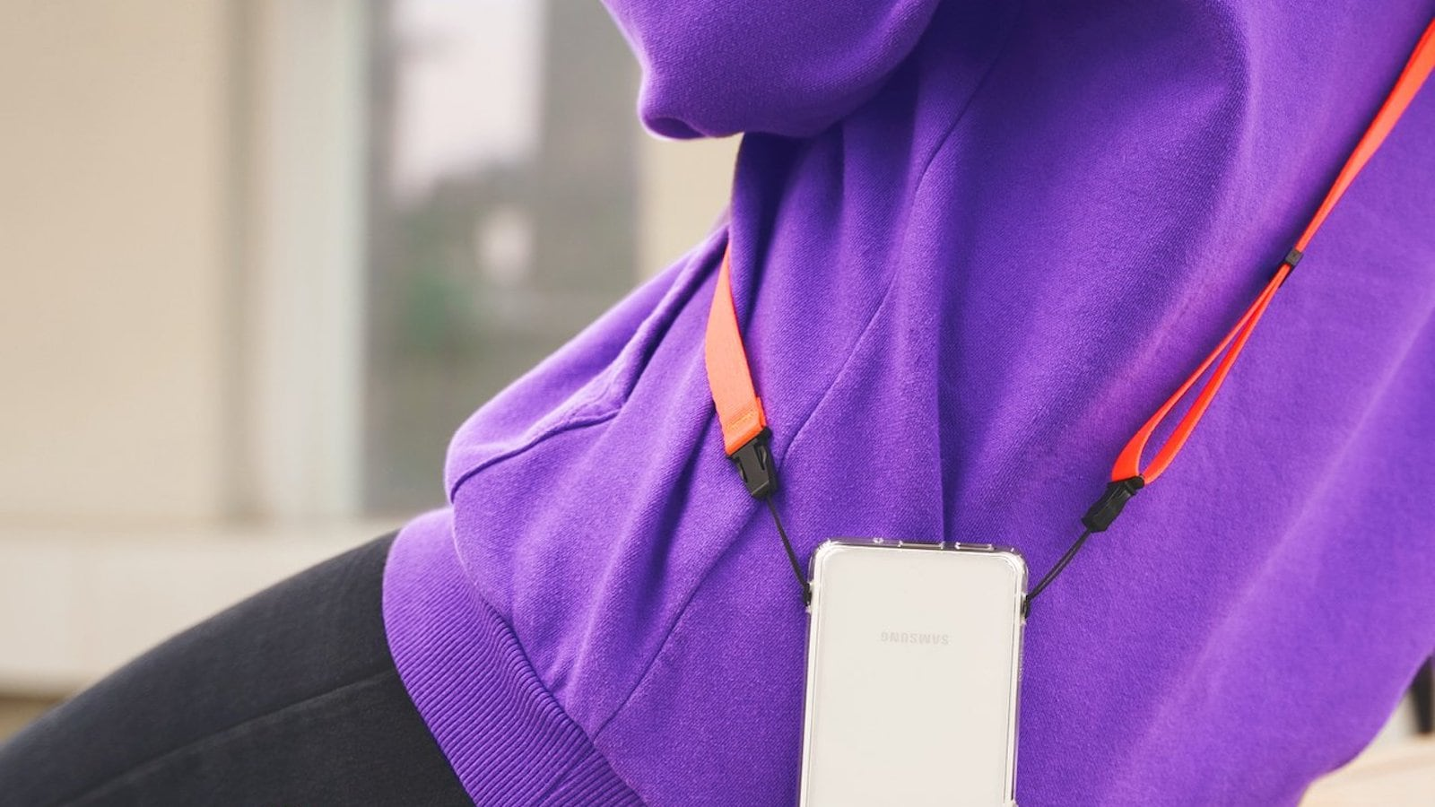 Ringke Shoulder Strap Nylon Device Carrier