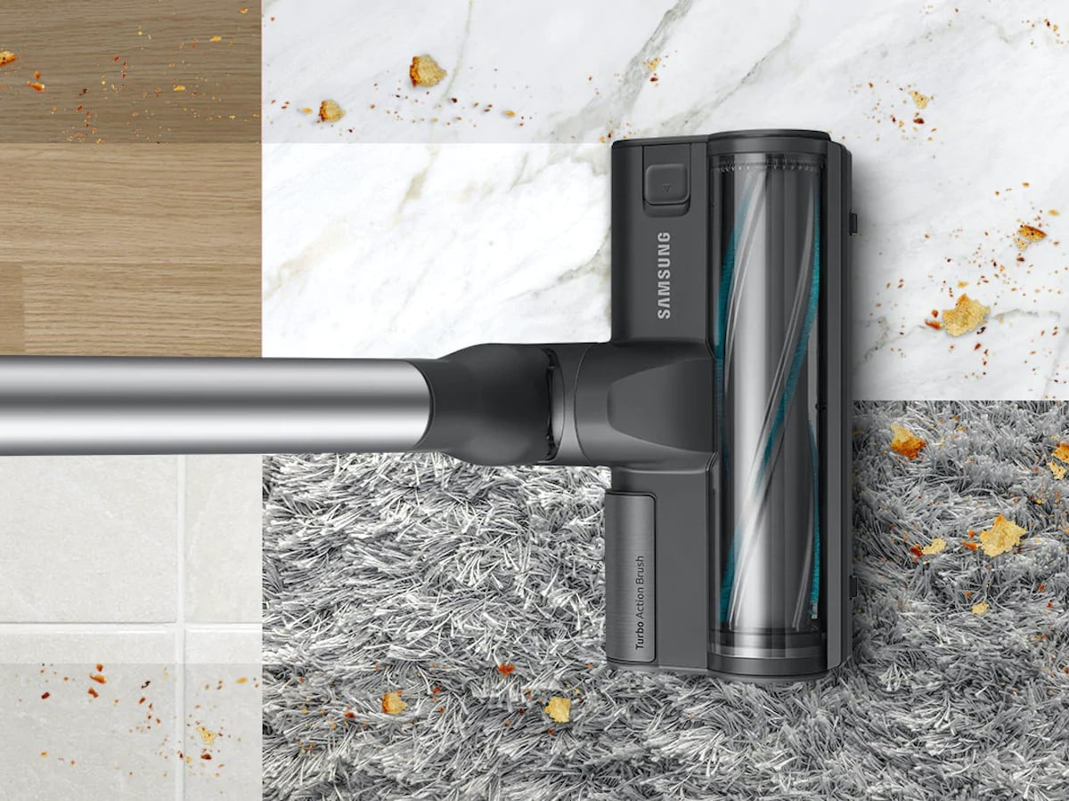 Samsung Jet 75 Pet lightweight vacuum cleaner provides heavy-duty cleaning