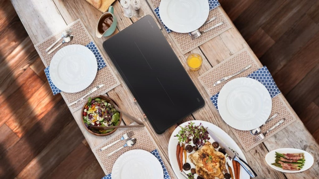 Samsung Portable Slim Double Induction 2-Burner Stove