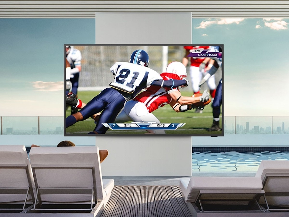 Samsung The Terrace QLED 4K outdoor smart TV now comes in a Full Sun model