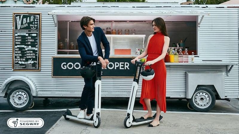 Segway Ninebot Air T15 Electric KickScooter Design
