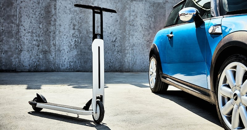 Segway Ninebot Air T15 Electric KickScooter Design in White