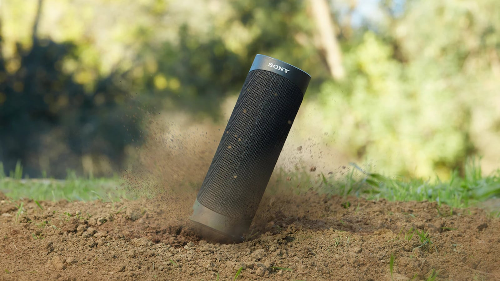 Sony SRS-XB23 EXTRA BASS Portable Bluetooth Speaker is easy to carry anywhere you go