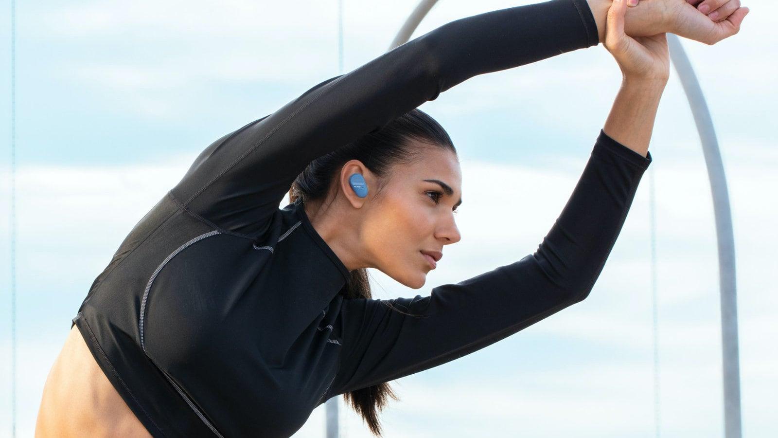 Sony WF-SP800N True Wireless Sport Earbuds